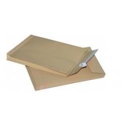 Faltentaschen Versandtaschen C4 229x324x20 mm braun 120 g/m²