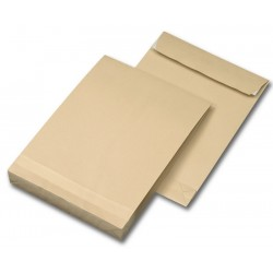 Faltentaschen DIN C4 - 229x324x20 mm