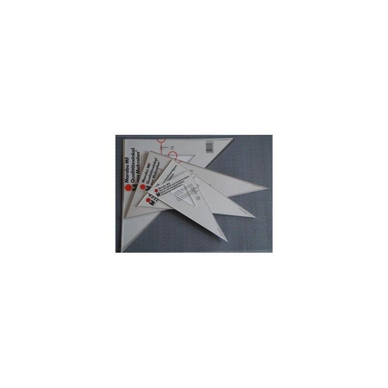 4x-MARABU Profi- TZ-Geometrie-Dreiecke 30-45-60-90°