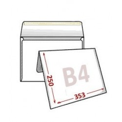 Versandtasche haftklebend DIN C4 229x324 mm