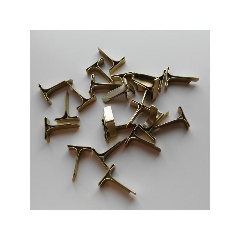 1000 St ALCO Musterbeutel Klammern Flachkopfklammern Verschlußklammern 16 mm