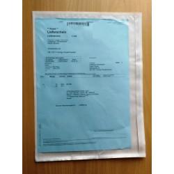Große DIN C4 selbstklebende Dokumententaschen 330 x 245 mm Lieferscheintaschen