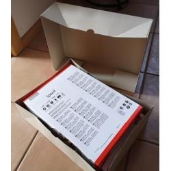 2x500 Blatt Druckpapier passt hinein
